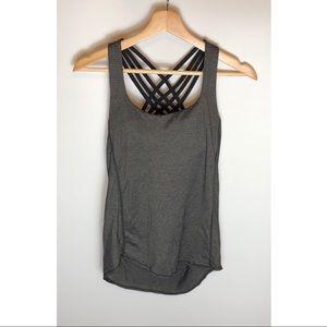 Womens Lululemon Athletic Top w/ bra Size 4